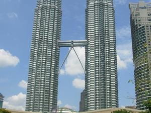 Słynne Petronas Towers