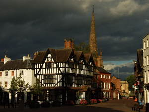 "Hereford... ""High town"" i Old House..."
