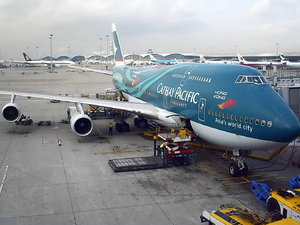 747-400 Cathay Pacific