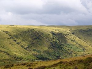 Brecon Beacons - pasmo Black Mountains