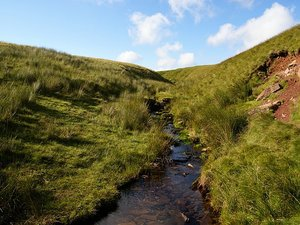 Brecon Beacons National Park strumyk