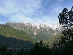 Morning in Manali