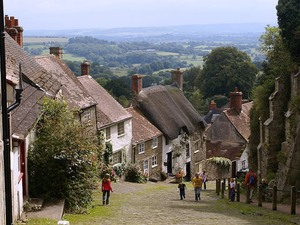 Shaftesbury uliczka Golden Hill