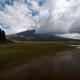Jezioro, Cotopaxi w tle