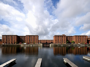 Liverpool widok na Albert Dock