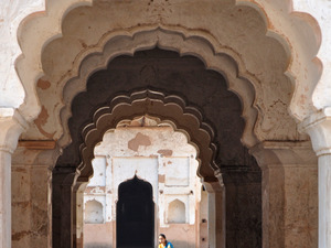 Palac w Orchha, Indie