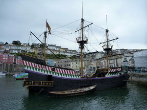replika statku Golden Hind