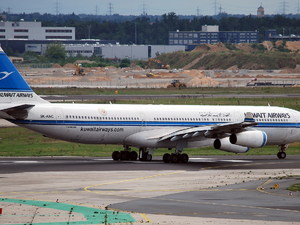 Kuwait Airways Airbus A340-313