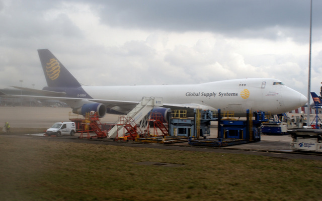 747 na lotnisku Stansted