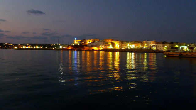 Lampedusa by night