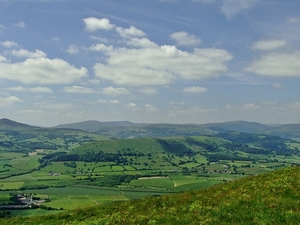Panorama Black Mountains