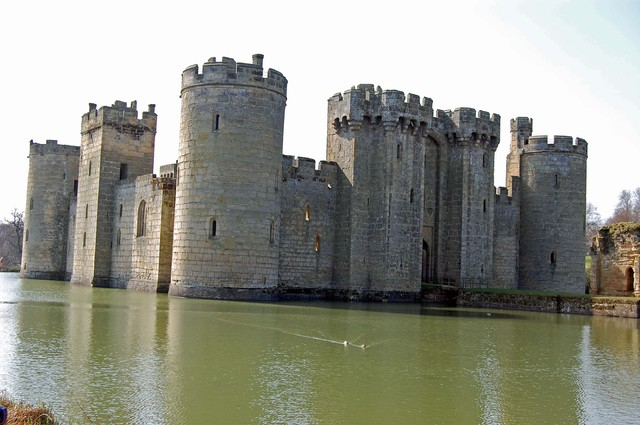 Bodiam castle  march 2012