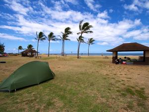 Camping w Salt Pond Beach Park