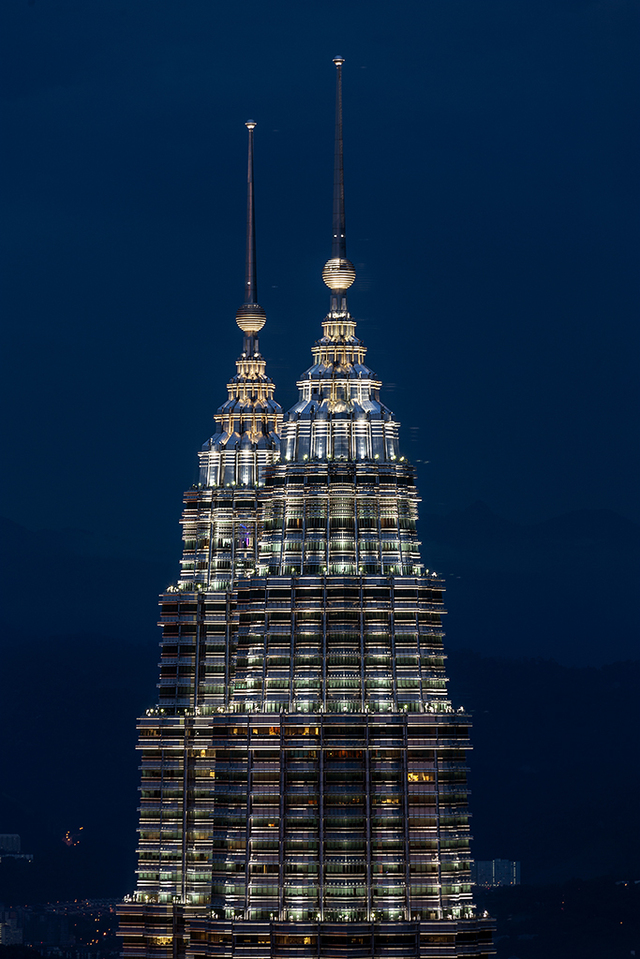 Widok na Petronas Towers