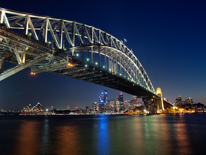 Harbour Bridge w Sydney